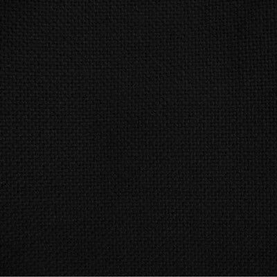 Black Loudspeaker Fabric/Cloth SAMPLE. Cover Grills/Cabinets. Acoustic Quality.