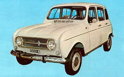 1968 Renault 4 Export Factory Photo J6257