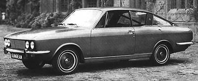 1968 Sunbeam Rapier Factory Photo J6287