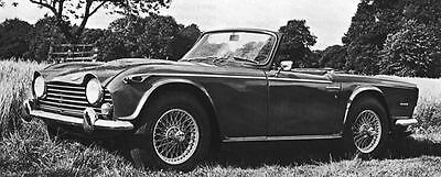 1968 Triumph TR5 PI TR250 Factory Photo J6302