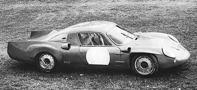 1968 Alpine Renault Gordini Race Car Factory Photo J6322