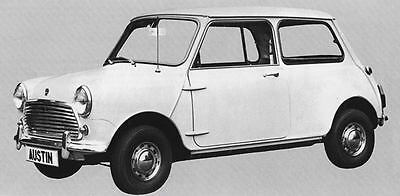 1969 Austin Mini Cooper 1000 Mk II Factory Photo J6361