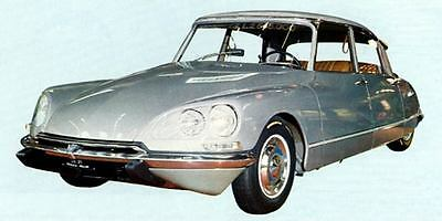 1969 Citroen DS21 Pallas Factory Photo J6412
