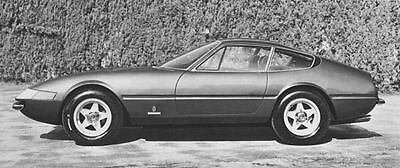 1969 Ferrari 365GTB4 Berlinetta Factory Photo J6430