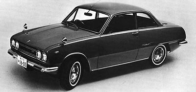 1969 Isuzu Bellett 1600GT Coupe Factory Photo J6494
