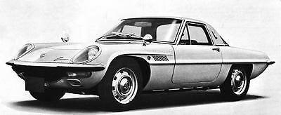 1969 Mazda 110S Cosmo Rotary Sport Factory Photo J6526