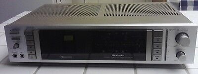 Rare Vintage Pioneer  AM FM Stereo Cassette Receiver RX-70