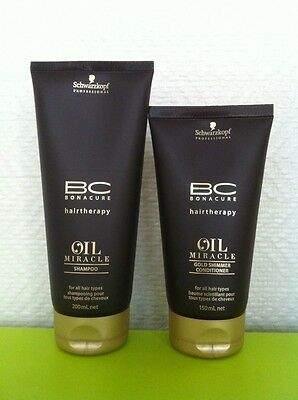 Schwarzkopf  BC Bonacure Oil Miracle Shampoo 200ml and Conditioner 150ml set