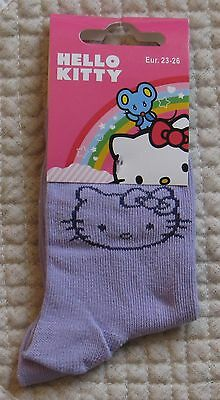 Paire de Chaussettes Fille Hello Kitty Neuf T 35-38