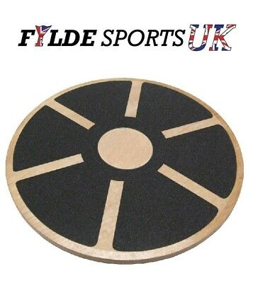 Skating Skiing Balance Wobble Board - Wooden - Good Quality - FREE P&P!