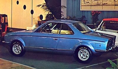 1970 Fiat 128 Coupe Savio Factory Photo J6716