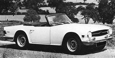 1970 Triumph TR6 PI Factory Photo J6909