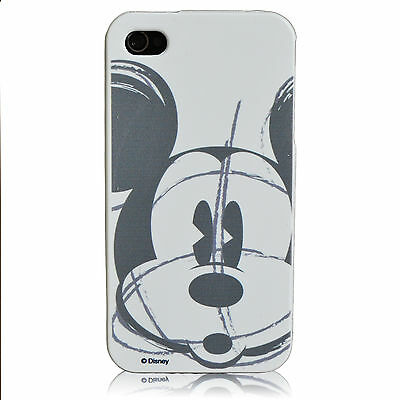 iPhone 5 5S Mickey Mouse Sketch Disney Protector Flexible TPU Cover Case White