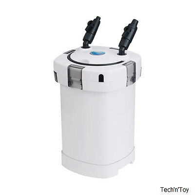SUNSUN HW-505B 5-STAGE AQUARIUM EXTERNAL CANISTER FILTER w/9W UV STERILIZER 264G