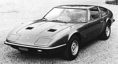 1970 Maserati Indy Factory Photo J6976