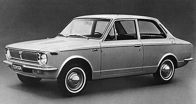 1970 Toyota Corolla 1200 Sedan Factory Photo J7145