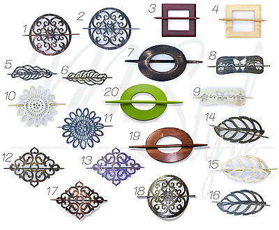 PAIR Curtain Brooch Tie Back Hold Clip Buckle Holder Decoration PAIR