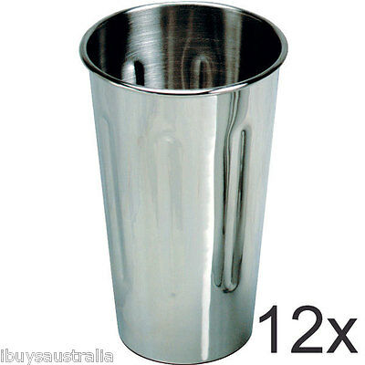 Roband Milkshake Maker 18/8 Stainless Steel 710ml Cup 12 Pack - Brand New WA132
