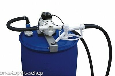Suzzara Blue drum pump kit 230vAC pump with nozzle & hose