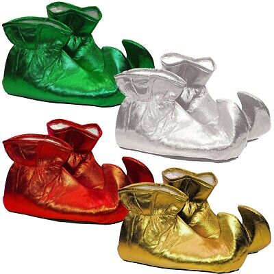 Elf Shoes Adult Christmas Costume Fancy Dress