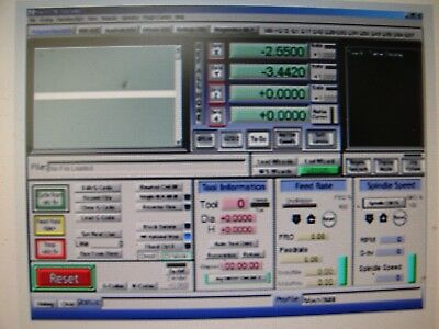 Mach3 CNC Software Stepper motor YOU GET DISKS free shp