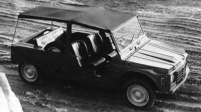 1971 Citroen Mehari 2 + 2 Factory Photo J7476
