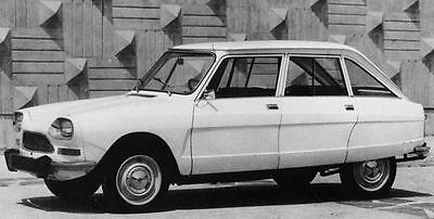 1971 Citroen Ami 8 Berline Confort Factory Photo J7477