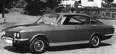 1971 Sunbeam Rapier Factory Photo J7537