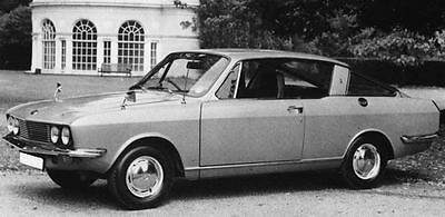 1971 Sunbeam Alpine Factory Photo J7538