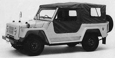 1971 Isuzu Unicab KR80 Jeep Factory Photo J7723