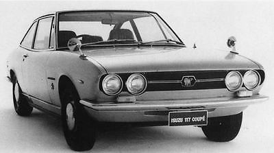 1971 Isuzu 117EC Coupe Factory Photo J7726