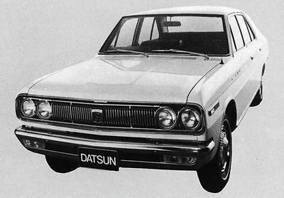 1971 Datsun 2400 Sedan Factory Photo J7751