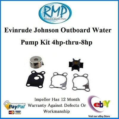 A Brand New Evinrude Johnson Outboard Water Pump Kit 4hp-thru-8hp # R 396644