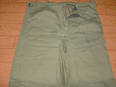 U.s Military Issue  Protective Od Green Pants Size Medium