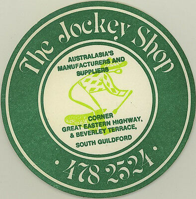 Coaster: The Jockey Shop, South Guildford.