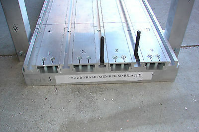 """CNC Router Table Extruded Aluminum T-Slot Surface 30"""" W X 24"""" L"""