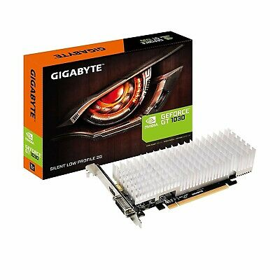Gigabyte nVidia GeForce GT 1030 2GB Silent Graphics Video Card Low Profile 4K