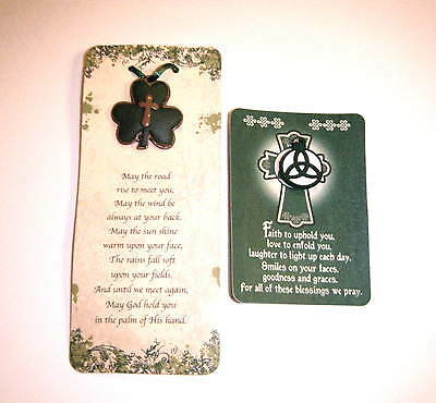 Irish Blessing Cards. Road Rise Blessing X 2 And Faith Blessing Wallet Card X 2.