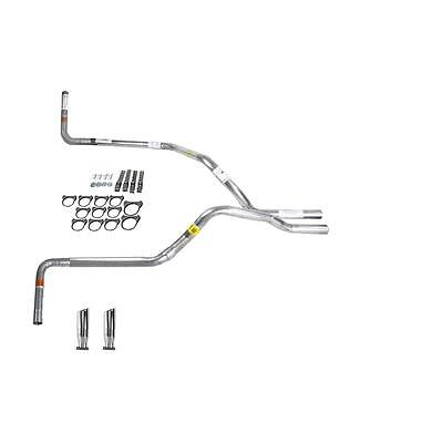 S10 / S15 83-94 dual exhaust 2.25 pipe No Muffler  RC Tip Side Exit