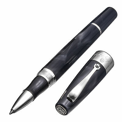 Montegrappa Classica Black Rollerball Pen- Brand NEW in Box! MSRP $445- IS00vrac