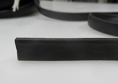 Weather Strip EPDM Sponge  Rubber , 8mm x 3mm  section, by the meter