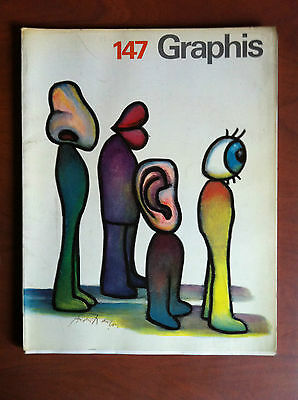 Graphis Graphic and applied art n° 147 - 1970/71 Cover: André Francois - E8070