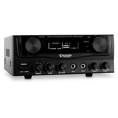 Mini Hifi Pa Amplifier System 400W Max Karaoke Party Amp *free P&p Special Offer