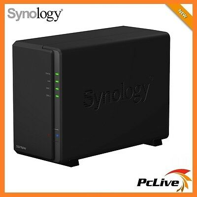 Synology DiskStation DS216play 2-Bay NAS Server 4K USB 3.0 RAID Network Storage