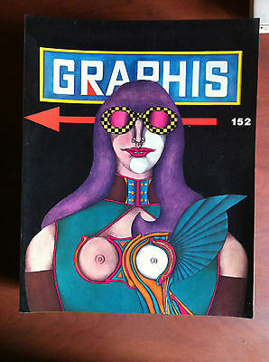 Graphis Graphic and applied art n° 152 - 1970/71 Cover: Richard Lindner - E8148