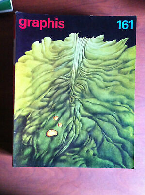Graphis Graphic and applied art n° 161 - 1972/73 Cover: Alain Le Foll - E8152