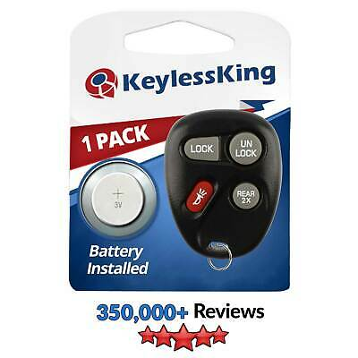 New Replacement Keyless Entry Remote Key Fob Clicker Transmitter for 15043458