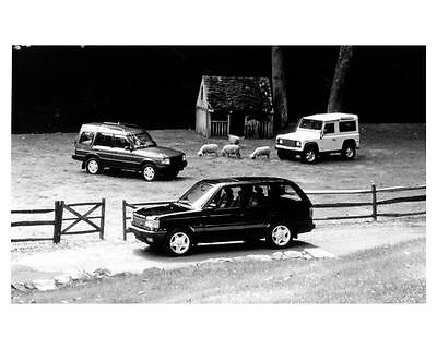1997 Land Rover Defender Discovery Range Rover Factory Photo c8724