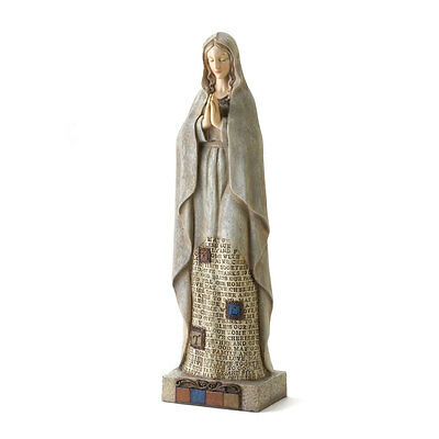 Our Lady Figurine Statue Virgin Mary Mother of God Blessed Prayer Family Home