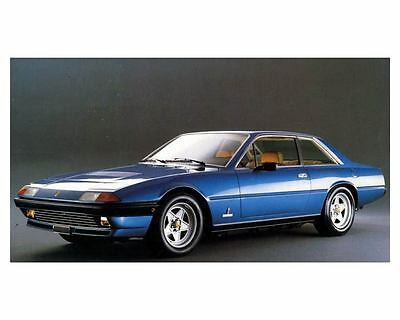 1982 1983 Ferrari 400i Factory Photo c8804